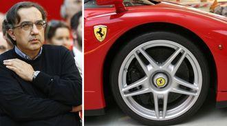 Sergio Marchionne var direktør for Ferrari og Fiat Chrysler Automobiles.
