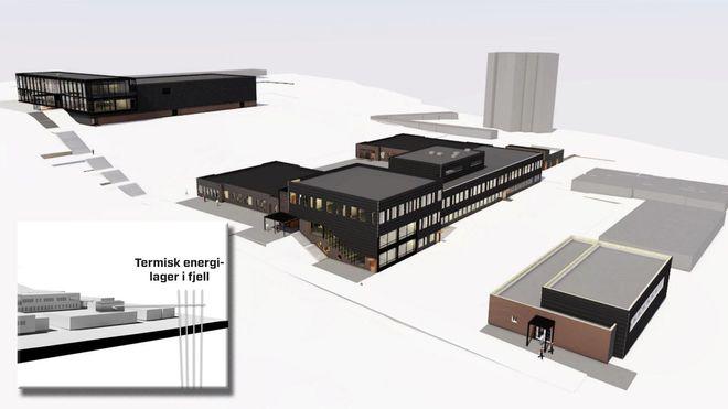 Vil bygge skolen som en termos - og lagre dobbelt så mye energi som verdens største elbatteri