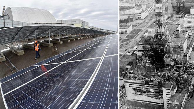 Nå begynner Tsjernobyl å produsere strøm igjen