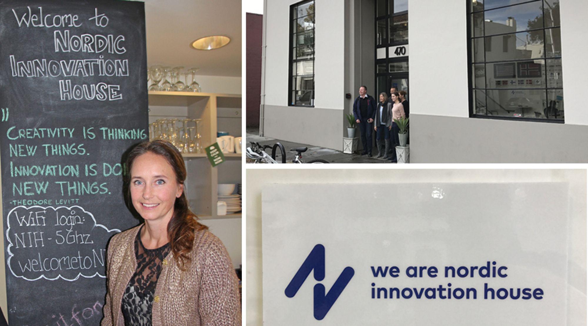 """Gro Dyrnes i Innovasjon Norge til venstre, regiondirektør for """"Americas"""" i Innovasjon Norge. De siste årene har hun befestet suksessen til Nordic Innovation House i Silicon Valley."""