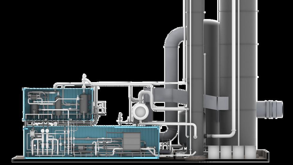 Det modulære og standardiserte CO2-fangstanlegget til Aker Solutions skal kunne rense 100.000 tonn CO2 i året. Til sammenligning renser anlegget på Mongstad 80.000 tonn CO2 i året.