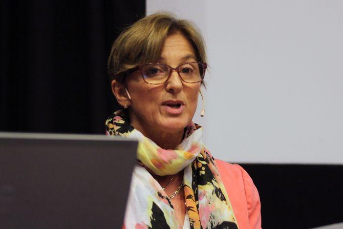 Administrerende direktør i Kunnskapsbarnehagen Espira, Marit Lambrechts.