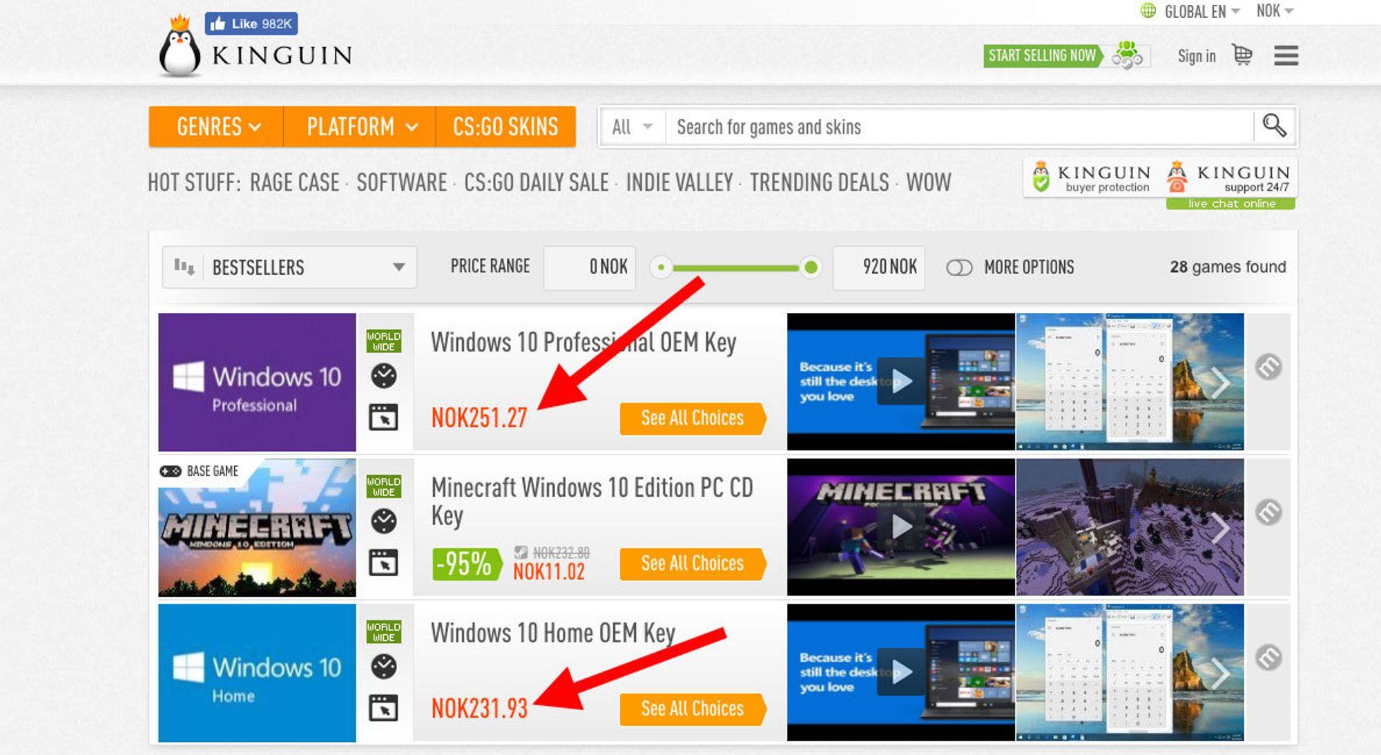 Er det for godt til å være sant når en Windows-lisens bare koster
