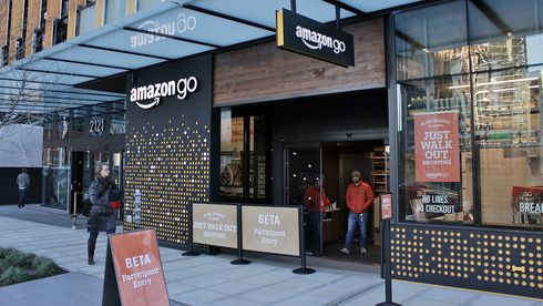 Amazon Go Seattle Kasseløs Matbutikk