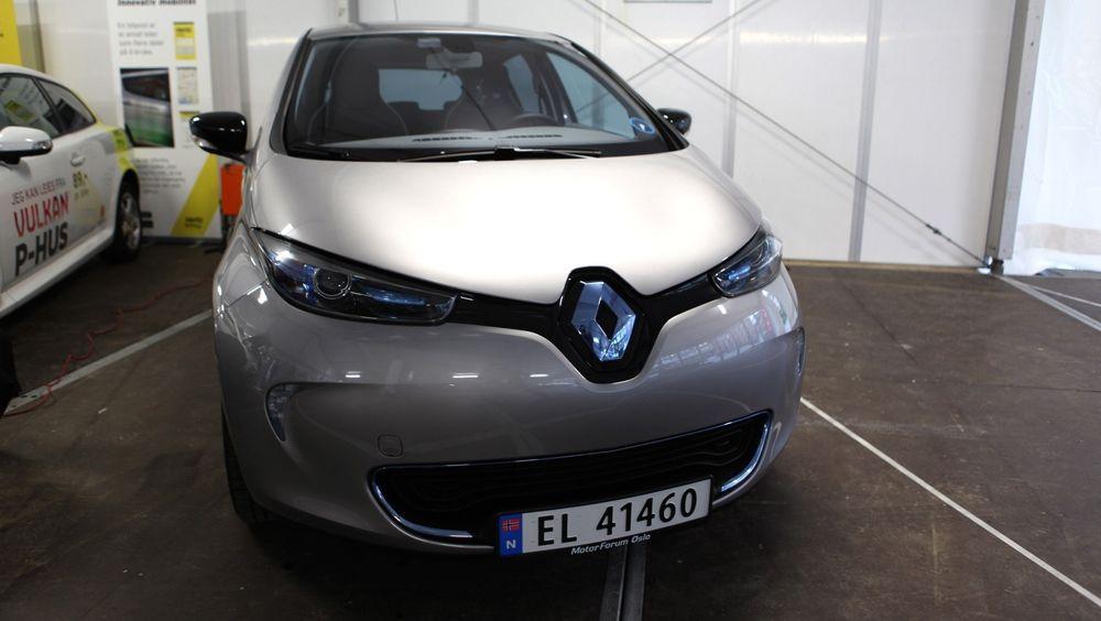 Renault Zoe kommer med inntil 400 km rekkevidde, og er Europas mest solgte elbil.