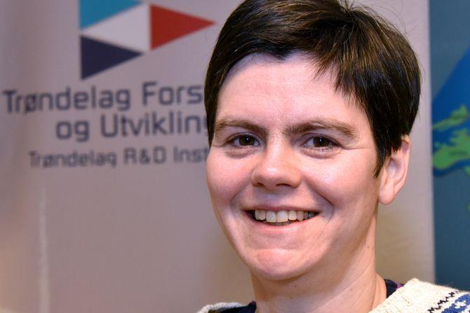 Forsker Anne Sigrid Haugset i Trøndelag forskning og utvikling.