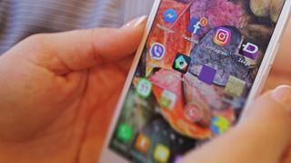 Apper på en Android-mobil