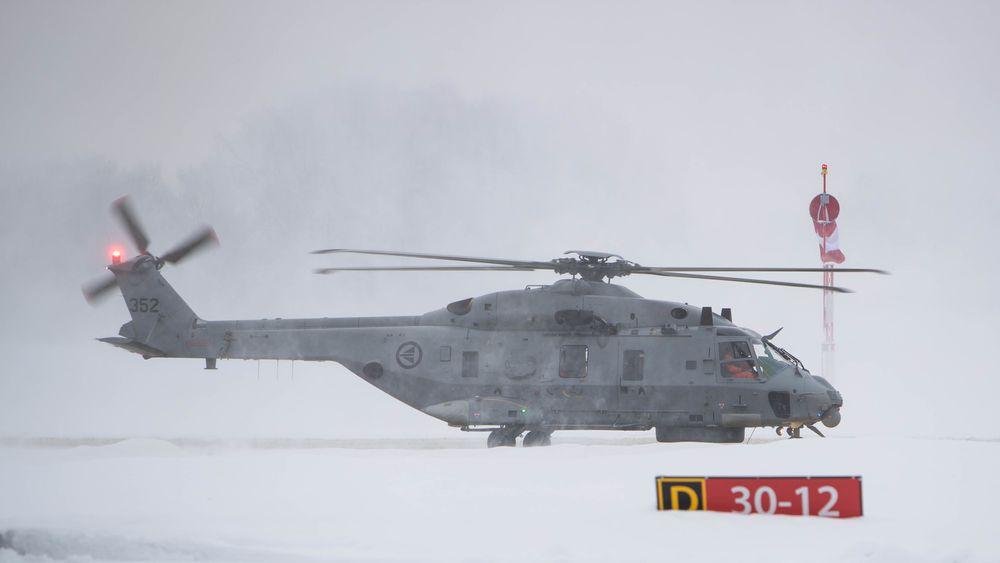 Det første NH90-helikopteret i endelig versjon ankom Norge 22. januar 2018.