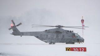Da det første NH90-helikopteret skulle leveres, oppdaget Forsvaret over 800 avvik