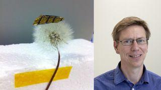 Plasserte de superlette solcellene på glass - og økte virkningsgraden