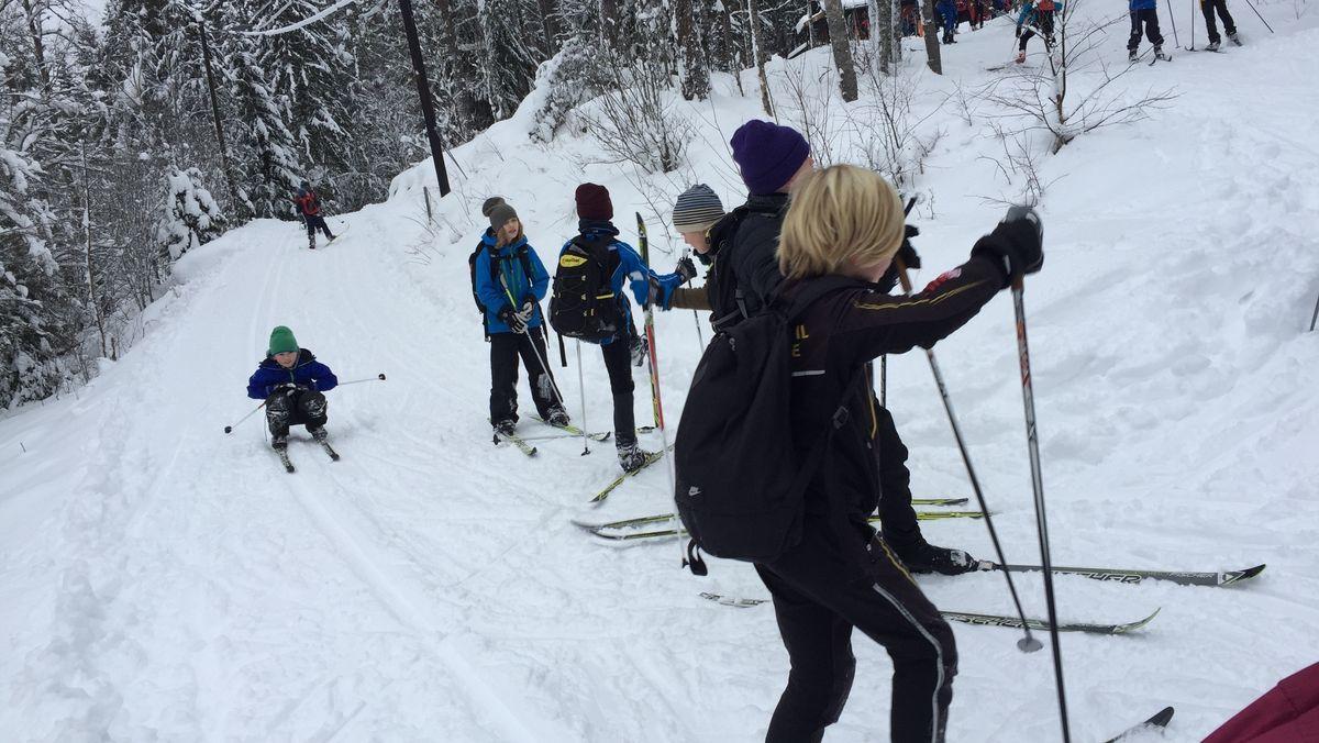 preparering av skiløyper i østmarka