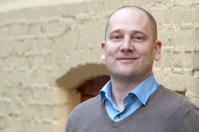 Leder i Utdanningsforbundet Steffen Handal.