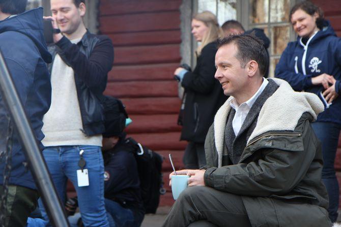 Andreas Viestad, faglig ansvarlig ved Geitmyra matkultursenter.