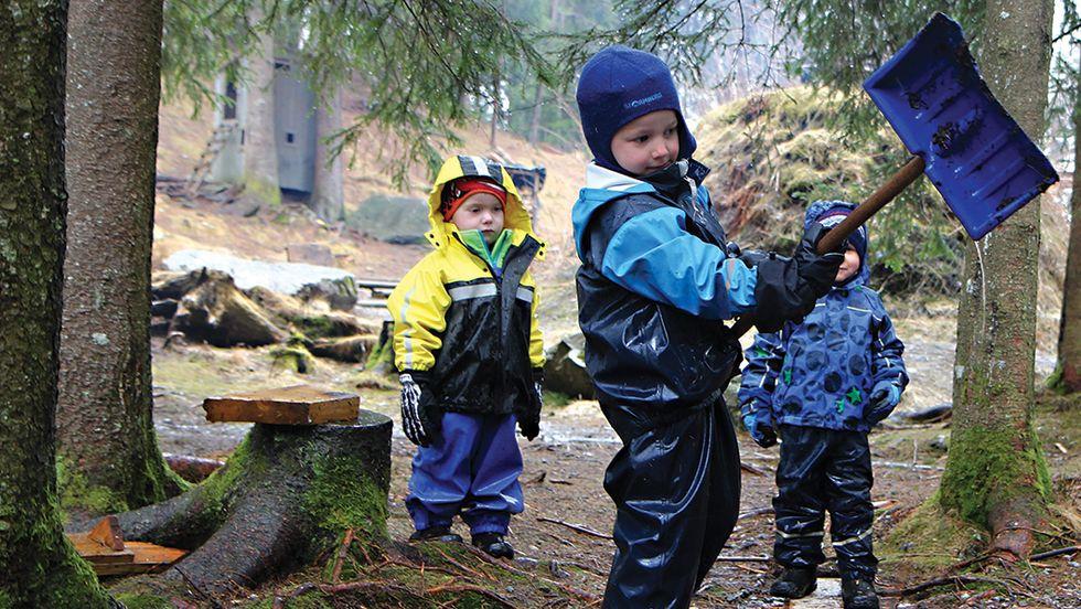 Her er klærne barnet trenger i barnehagen Barnehage.no