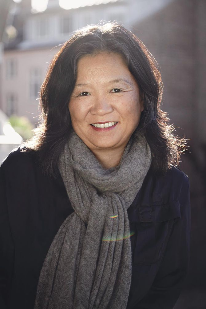 Forfatter og familieterapeut Anne Kyong-Sook Øfsti.