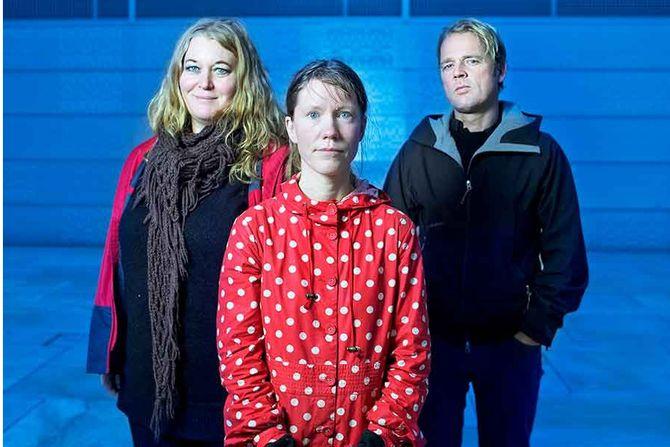 I 2015 starter Redd Barna en ny kampanje for å avdekke seksuelle overgrep mot barn, med fokus på ti byer. Her er kampanjeteamet Ane Aamodt, Grete Vandvik og Lars Due-Tønnessen samlet. FOTOLuca Kleve-Ruud