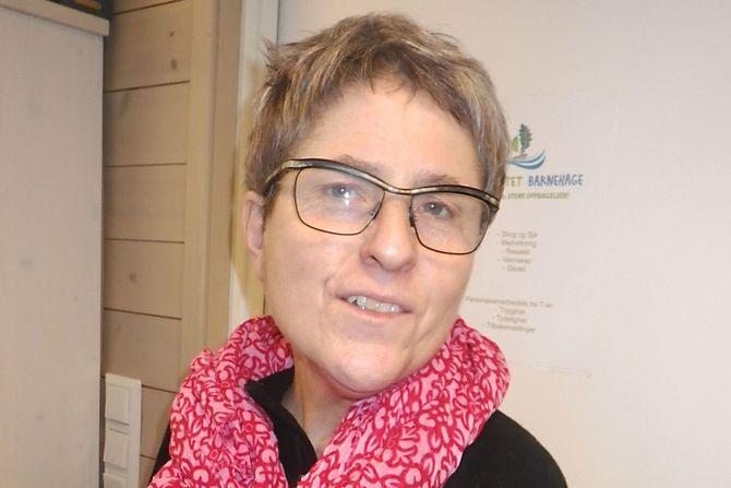 Nina Thommesen er pedagogisk leder i Lekeslottet barnehage i Risør.