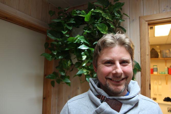 Daglig leder i Hundremeterskogen barnehage, Niels Bjørn Olsen.