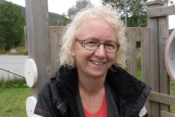 Britt Ingebrigtsen i Holtet barnehage.