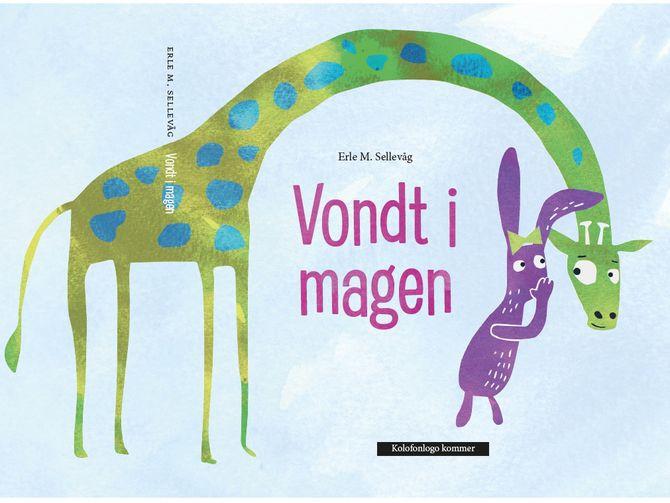 """""""Vondt i magen"""" av Erle Sellevåg, Blå Kors og Barn i rusfamilier."""