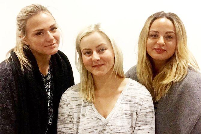 Anette Bjørneby, Susanne Karlsen og Aida Stuen Bennia er studenter ved Høgskolen i Østfold