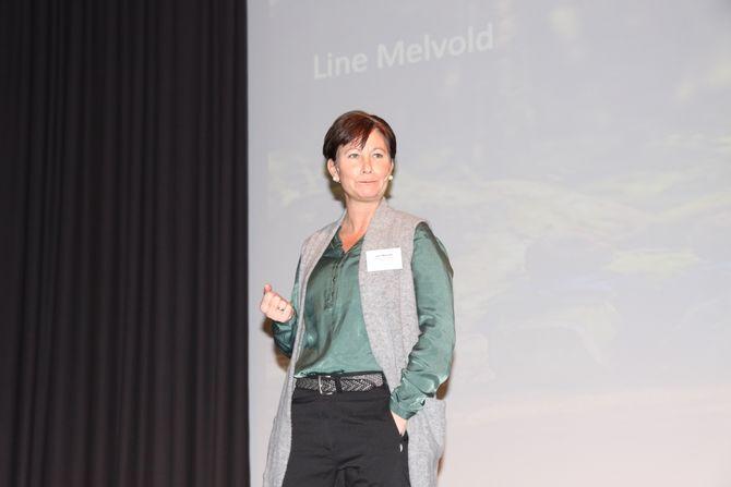 Line Melvold driver STYD kommunikasjon AS der hun jobber som fagformidler og veileder. (Arkivfoto).