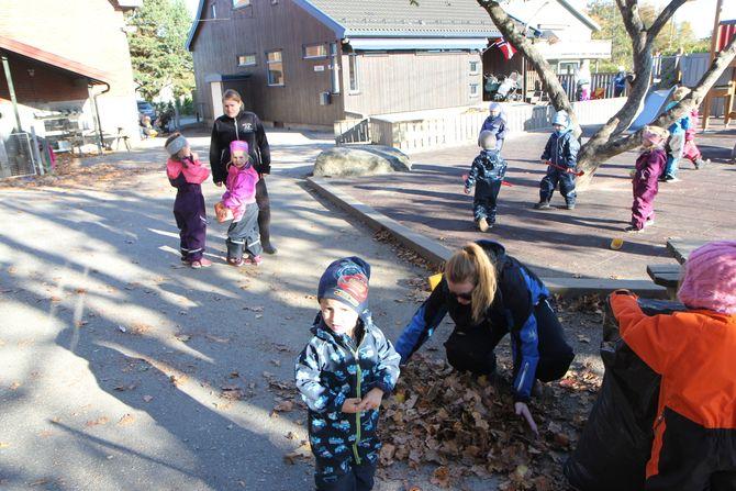 Ungene i Borgen barnehage i Sarpsborg og de andre 14 barnehagene i Borg barnehager, slipper å bli utsatt for skadelige, kjemiske stoffer i løpet av barnehagehverdagen sin.