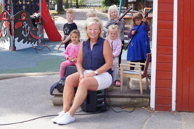 Styrer i Trondalen barnehage i Fredrikstad, Kristin Epland.