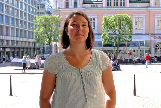 Ann-Kristin Larsen driver Tøybleiebutikken.no.