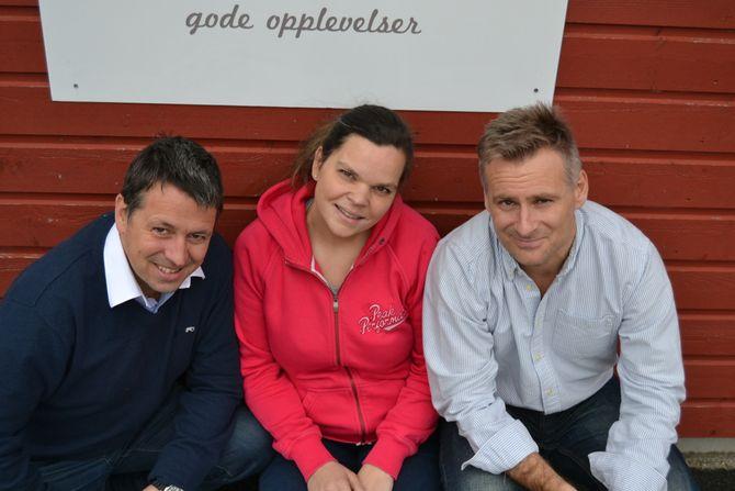 Eventus-teamet. Eier Kjetil Tuvin Hopen, utviklingssjef Monica Westrebø Basberg og administrerende direktør Thomas Hopland.
