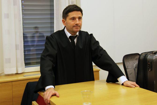 Advokat Tor Eitran.