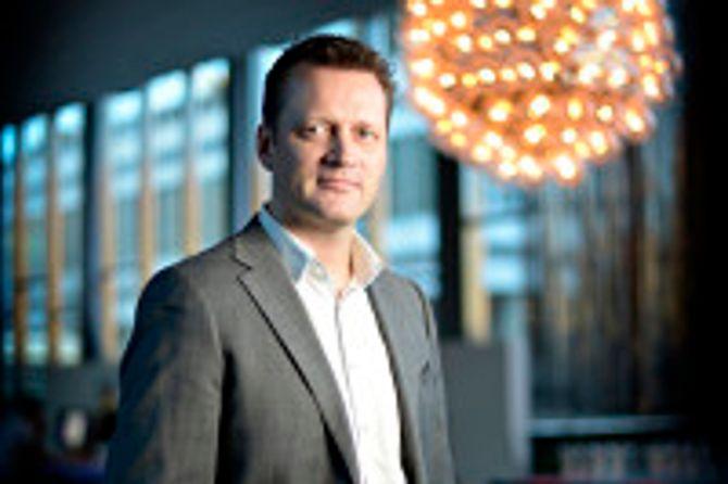 Kommunikasjonsleder Sverre Simen Hov i Lederne.