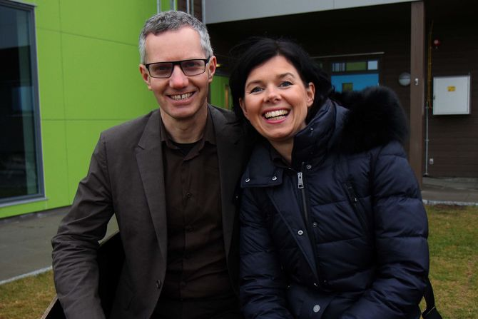 Randi og Hans Jacob Sundby, eiere av Læringsverkstedet.