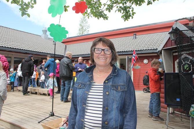 Styrer i Vågønes musikk- og friluftsbarnehage, Miriam Fagerli.