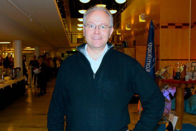 Psykolog David Edfelt.