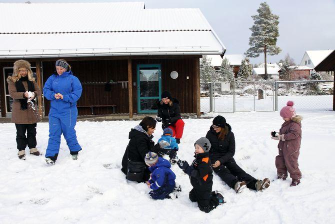 – Vi har lest mye om det norske barnehagesystemet og drømte om å få reise hit en dag og se det med våre egne øyne, forteller barnehagelærer Natasa Vrapclevic.