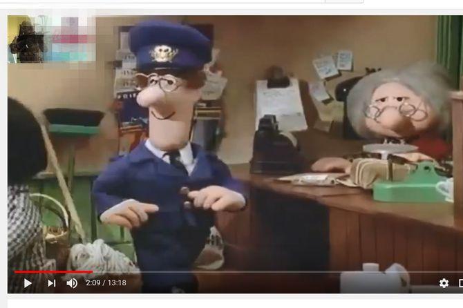 En tilsynelatende uskyldig animasjonsfilm for småbarn kan bli dubbet med upassende språk, redigert med innklippet reklame for voldsspill og lagt ut på Youtube. Der er de bare et par klikk unna dersom foreldre og barnehageansatte ikke passer på. Skjermdump fra Youtube