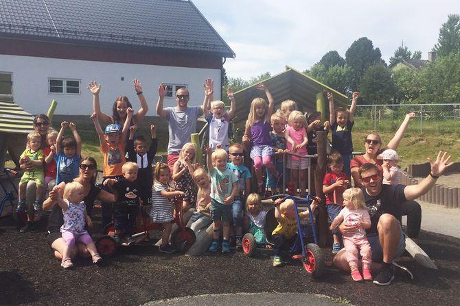 """Læringsverkstedet Nerby barnehage var i år en av åtte finalister i kåringen av """"Årets barnehage"""" som ble delt ut av PBL (Private barnehagers landsforbund)."""