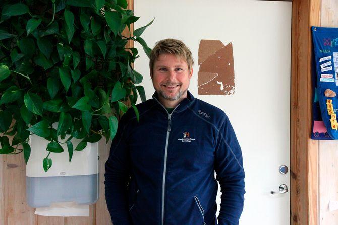 Niels Bjørn Olsen, daglig leder i Hundremeterskogen Barnehage.