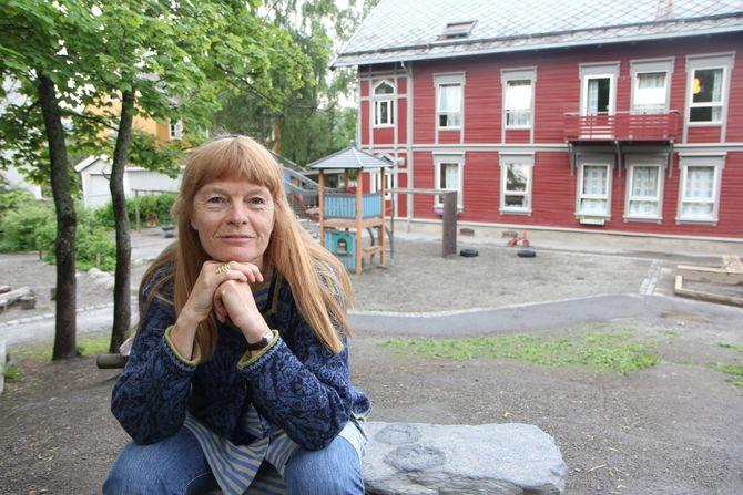 Marianne Schjetne, styrer i Bakklandet barnehage.