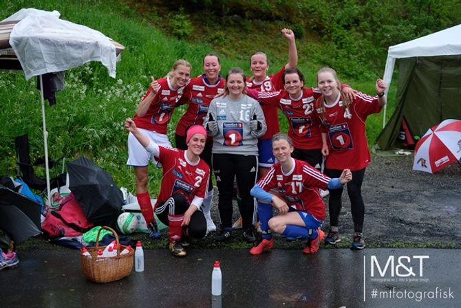 Lillehammer barnehage vant dameklassen.