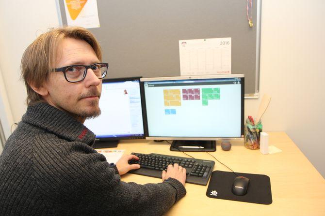 Produktutvikler Jon Mikkel Flaten i Barnehageweb.