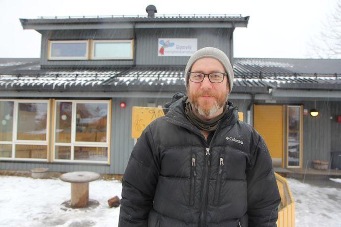 Styrer Øystein Gjønnes i Rønvik Menighetsbarnehage.