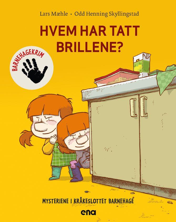 Hvem har tatt brillene? av Lars Mæhle. Illustrert av Odd Henning Skyllingstad.