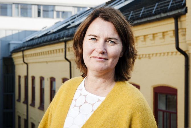 Hege Valås, nestleder i Utdanningsforbundet.
