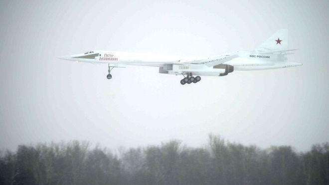 Putin ønsker seg privatfly-versjon av det supersoniske bombeflyet