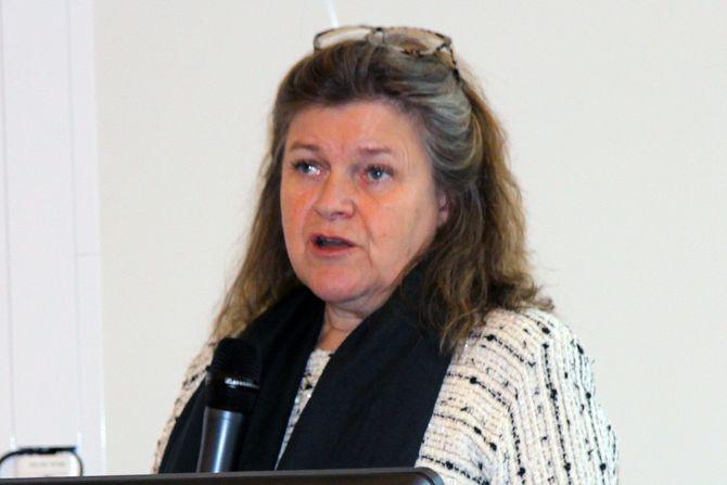 Landskapsarkitekt Helle Nebelong på konferansen «Barn og rom».
