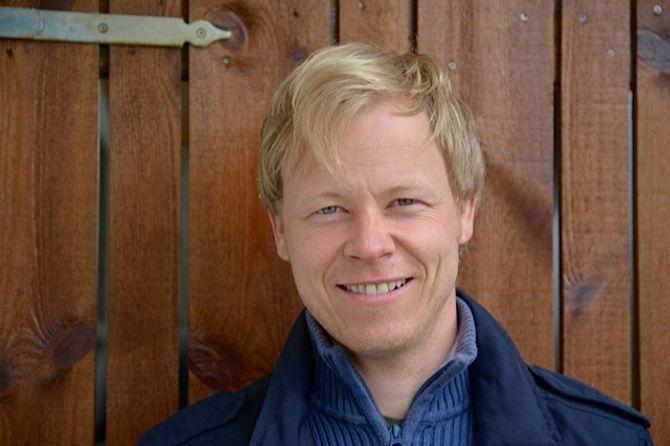 Forfatter og barnevernpedagog Heine V. Vestvik.