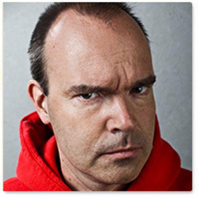 Peter Vesterbacka, kommunikasjonssjef i Rovio Entertainment som står bak spillet Angry Birds.