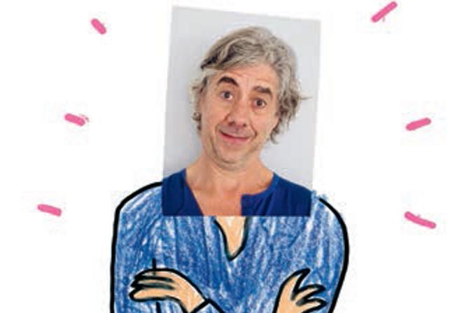 Den franske forfatteren og illustratøren Herve Tullet.